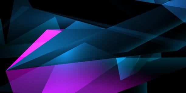 Polygonale künstlerische Hintergrundbilder – Foto
