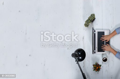 istock Creative professional at work 612653580