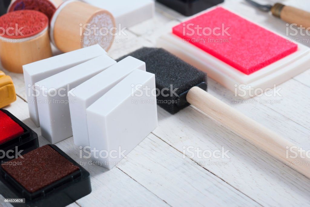 DIY creative project tools royalty-free stock photo