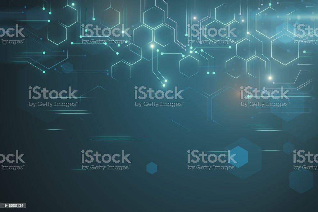 Kreative Tech-Hintergrund – Foto