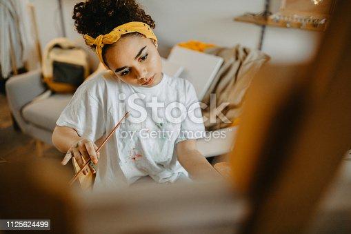 istock Creative teenage girl 1125624499