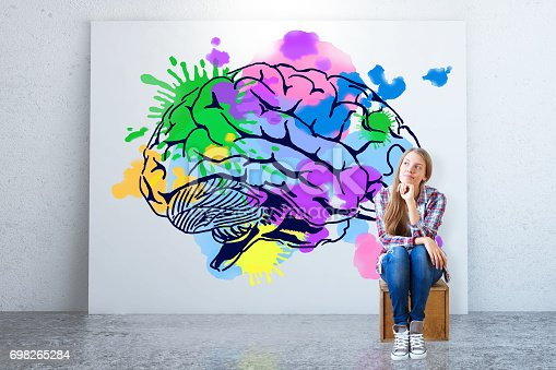 istock Creative thinking concept 698265284
