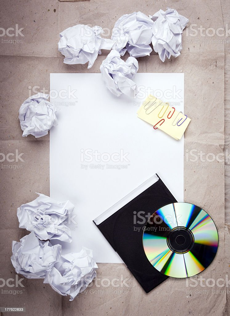 Creative Work Background royalty-free stock photo