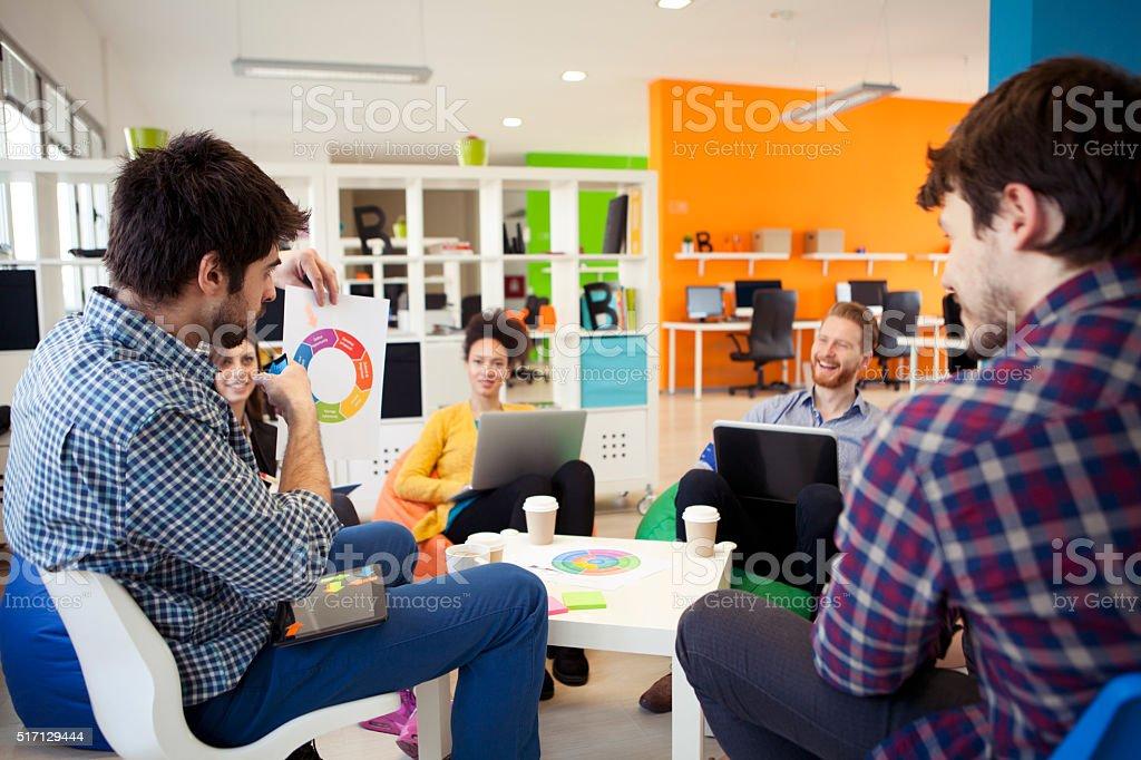 Creativos jóvenes - foto de stock