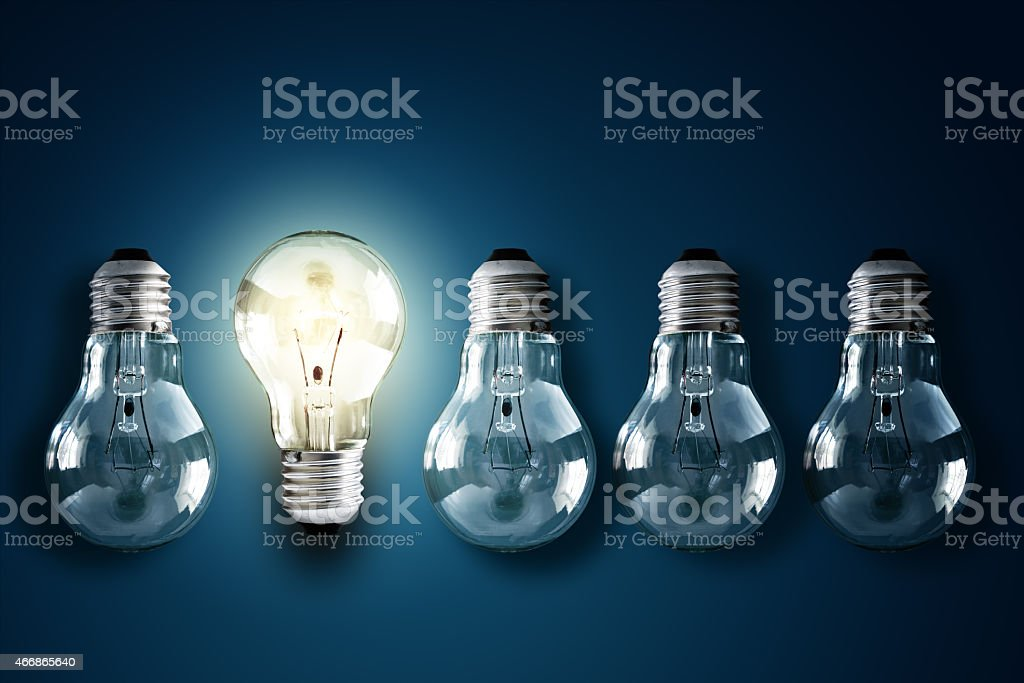 Creativity and innovation stock photo