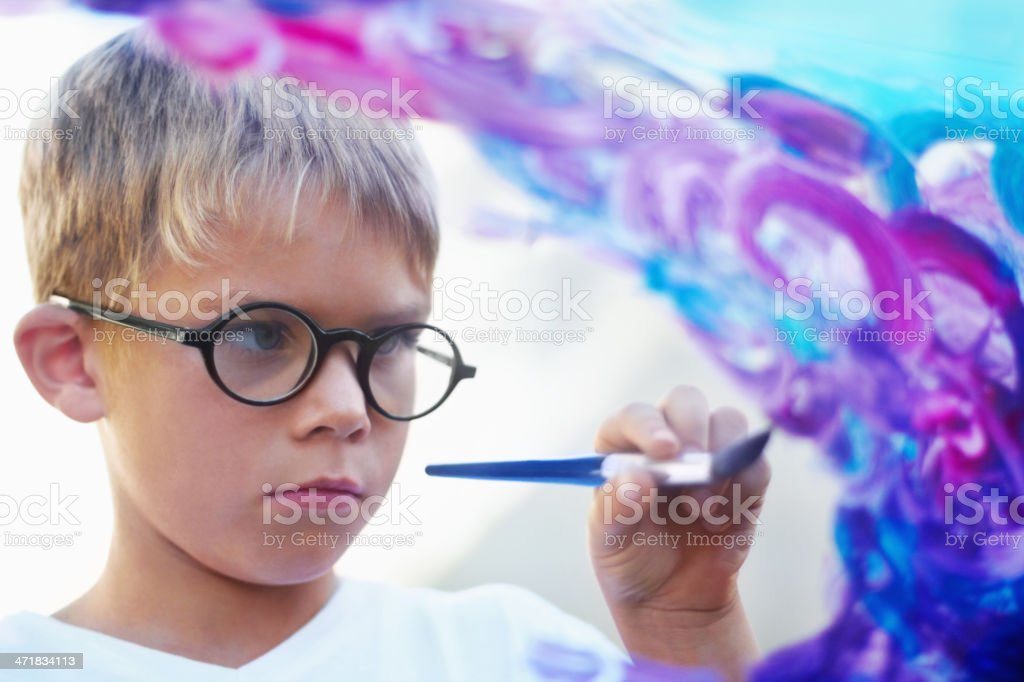 Creativity and talent stock photo