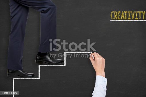 491490296istockphoto Creativity Concepts on Blackboard Background 638696686