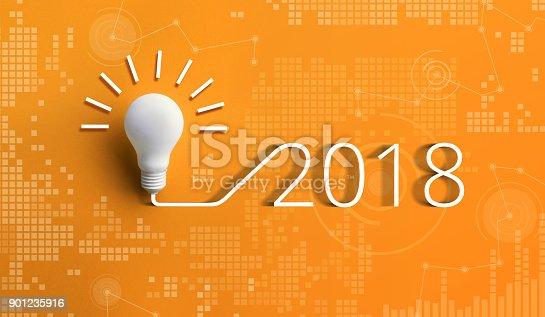 845301446 istock photo 2018 creativity inspiration concepts with lightbulb 901235916