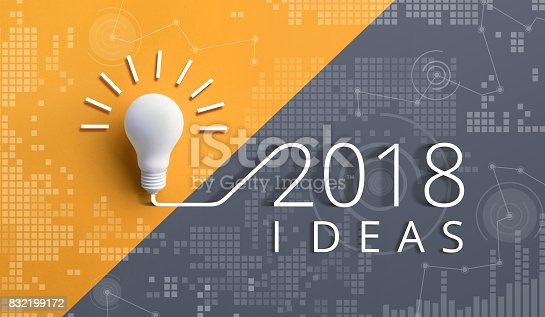 845301446 istock photo 2018 creativity inspiration concepts with lightbulb.Business idea 832199172
