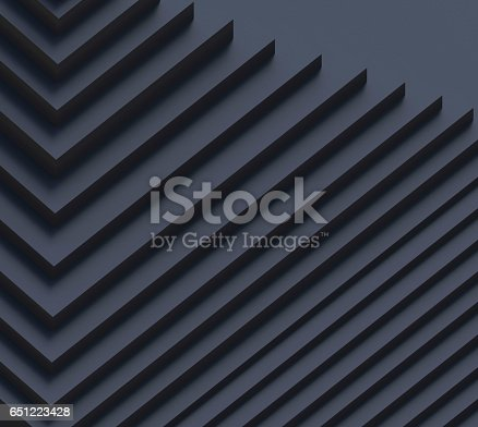 istock Creativity Movement Black Geometric Shape pattern Rhythm 651223428