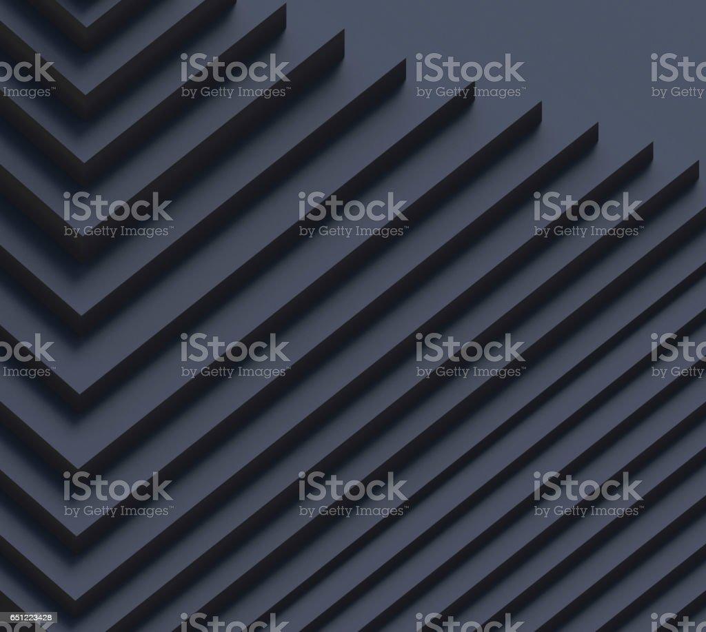 Creativity Movement Black Geometric Shape pattern Rhythm stock photo