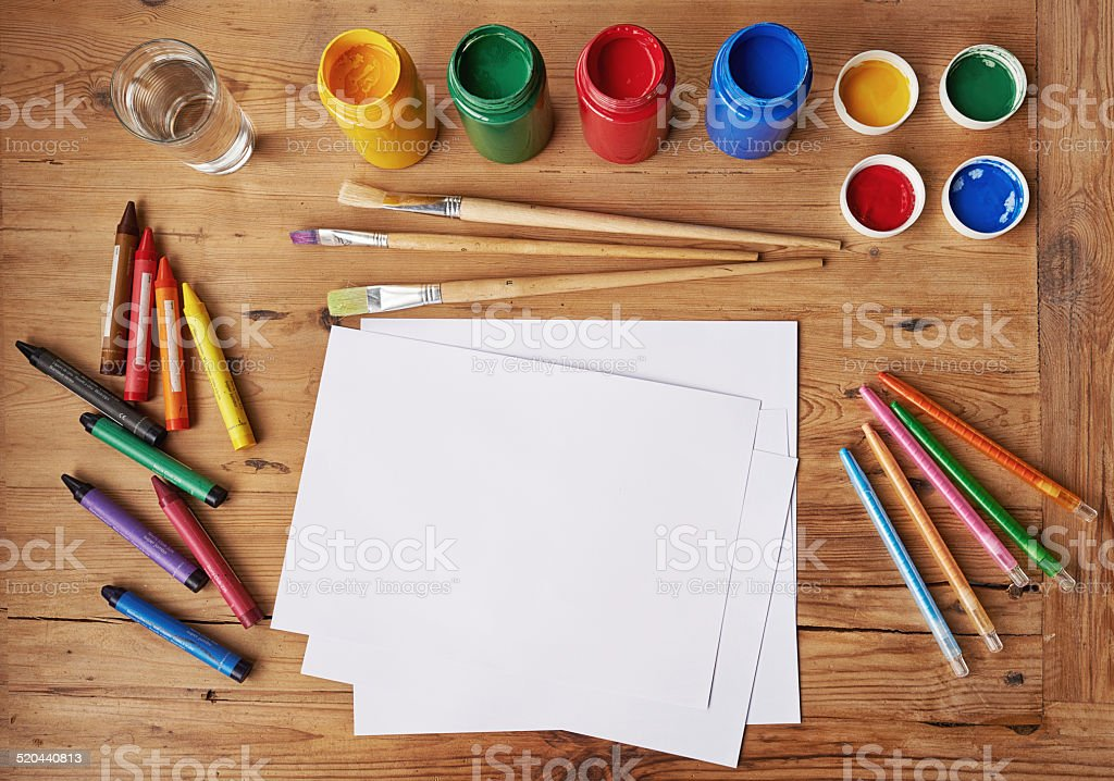 Creativity never goes out of style stock photo