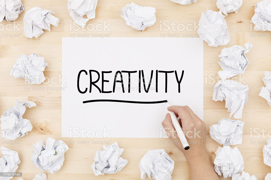 Creativity royalty-free stock photo