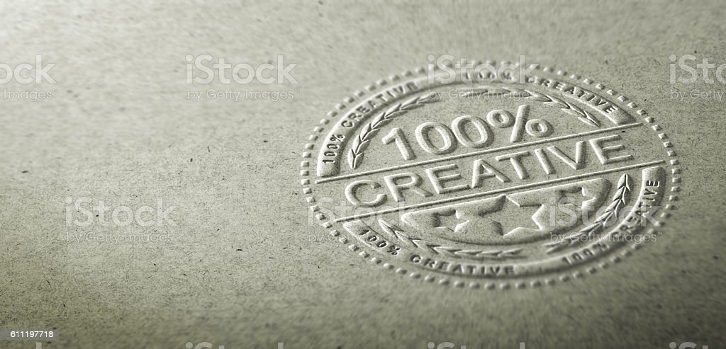 Creativity stock photo