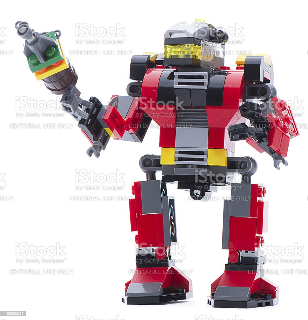Lego Creator Rescue Robot Stock Photo More Pictures Of Color Image
