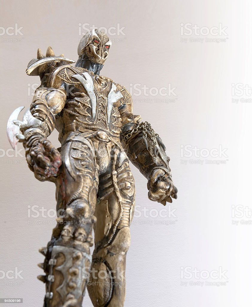 Creature of the dark stock photo