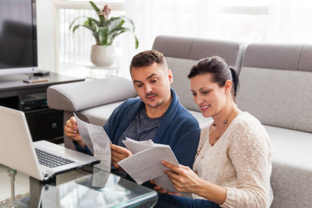 Credit Application Online stock photo