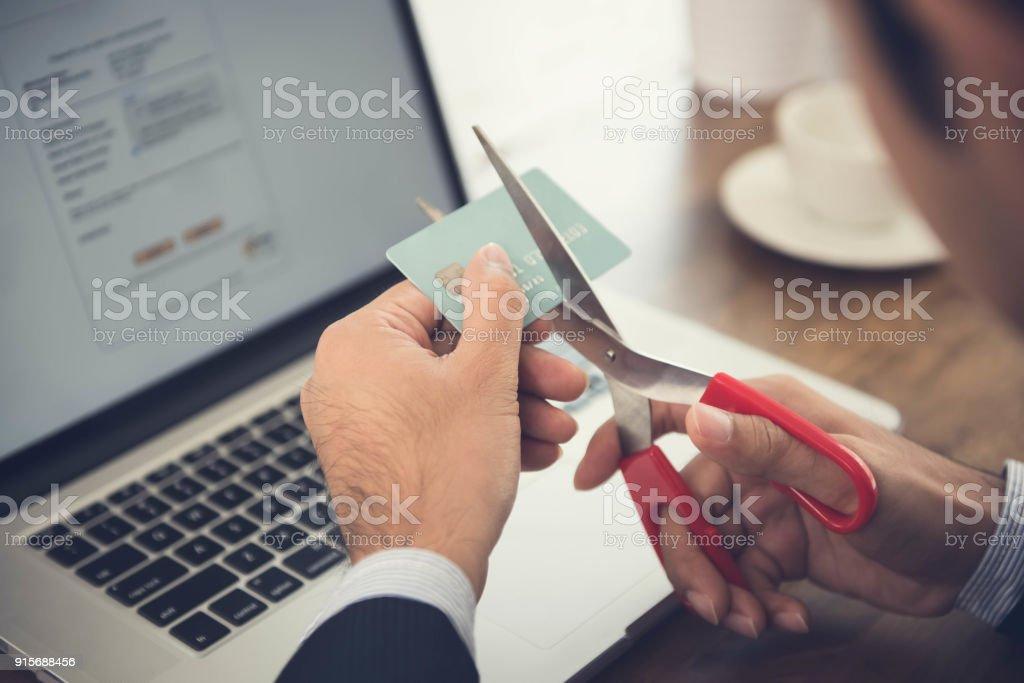 Kreditkarte wegen fahrlässigen Nutzung – Foto