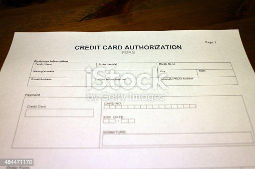 autorisierungsformular kreditkarte