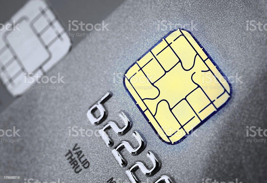 クレジットカードのチップ ストックフォト