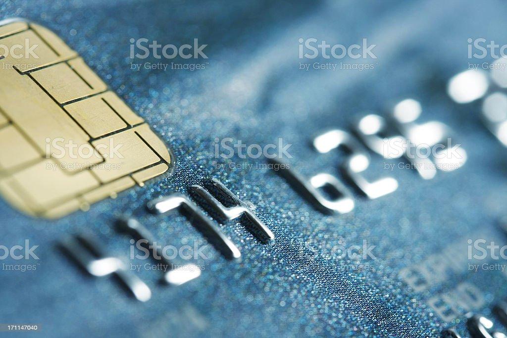 Zbliżenie karty kredytowej – zdjęcie