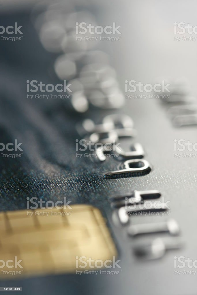 credit card close-up royalty-free stock photo