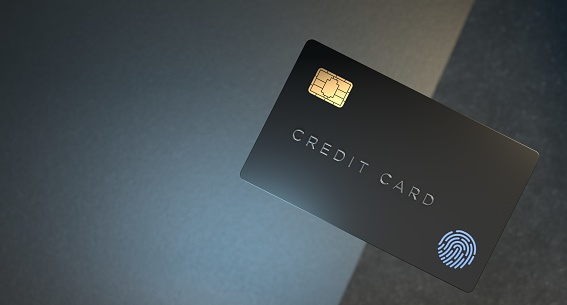 Credit card cyber security lock