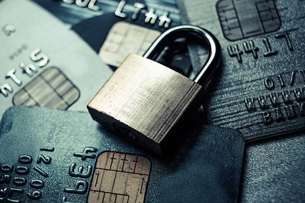 credit card data security - identity stock photos and pictures