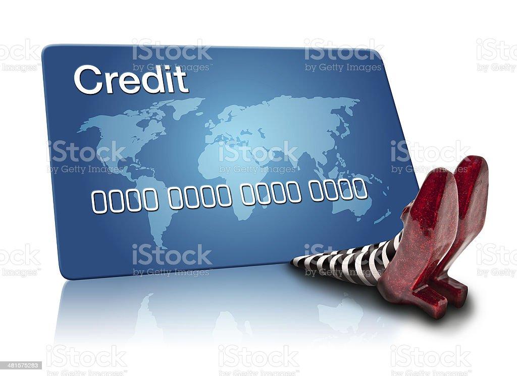 Credit Card Debt stock photo