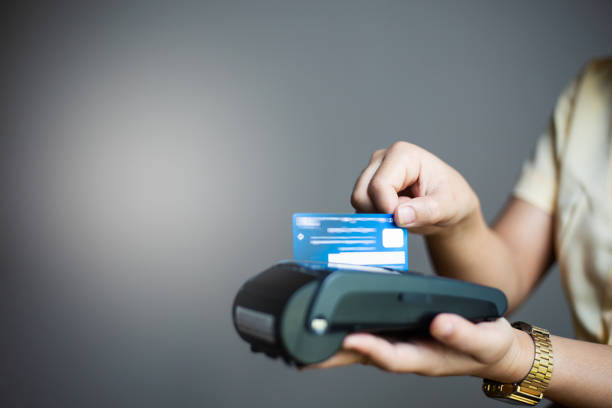 Credit card for payment stock photo