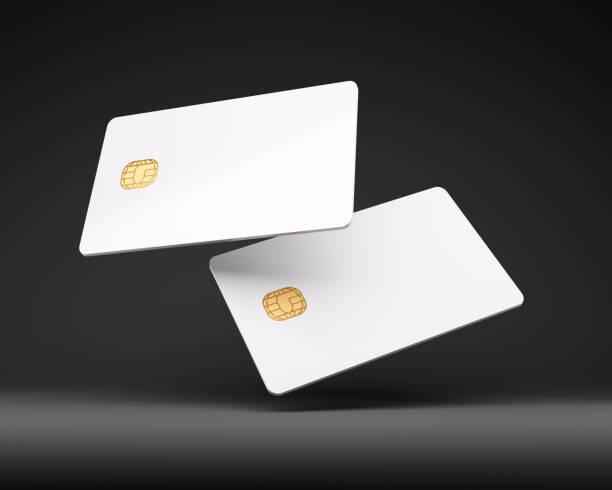 Credit Card Mock up stock photo
