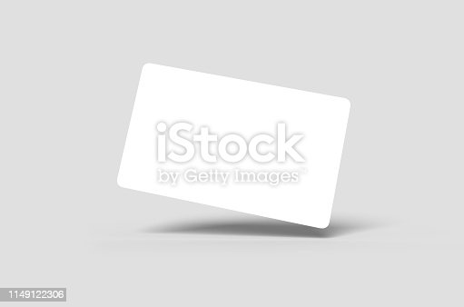 istock Credit Card or Business Card 1149122306