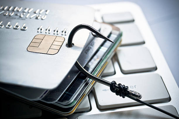 credit card phishing - phishing stock photos and pictures
