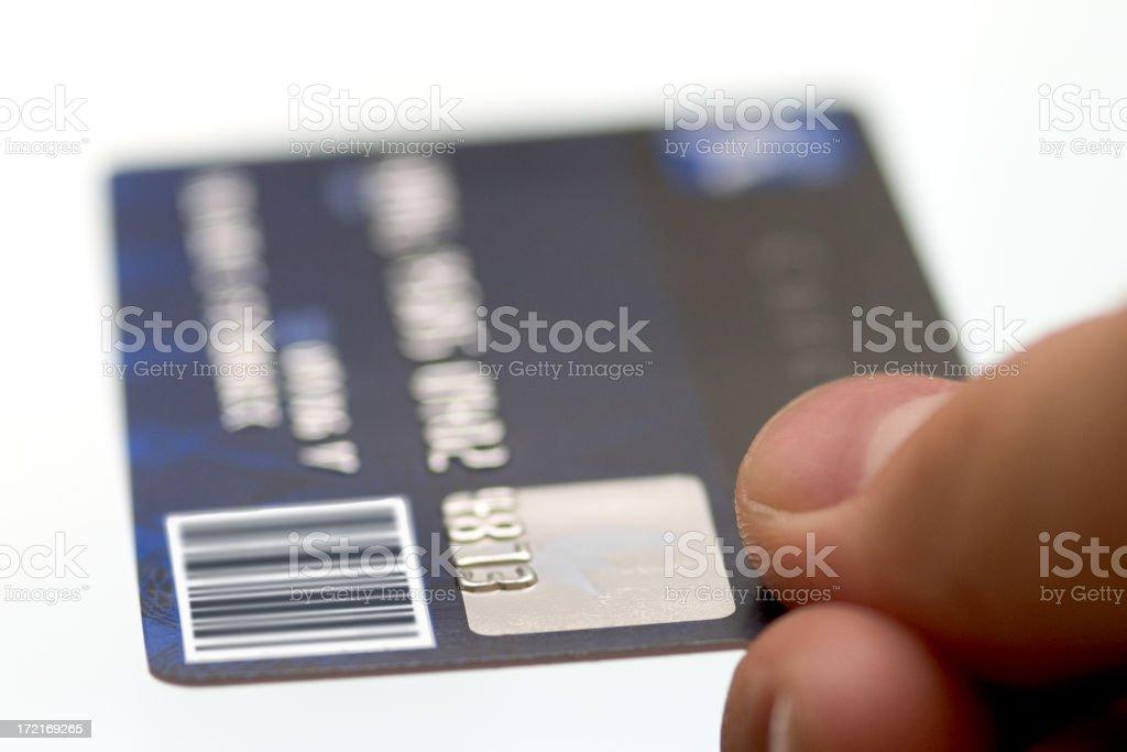 Credit Card royalty-free stock photo