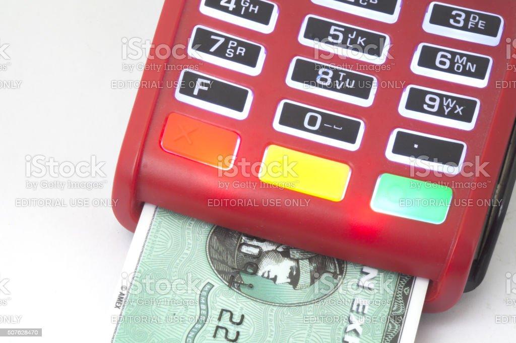 Tarjeta de crédito - foto de stock
