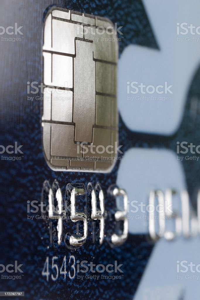 Credit Card Portrait royalty-free stock photo
