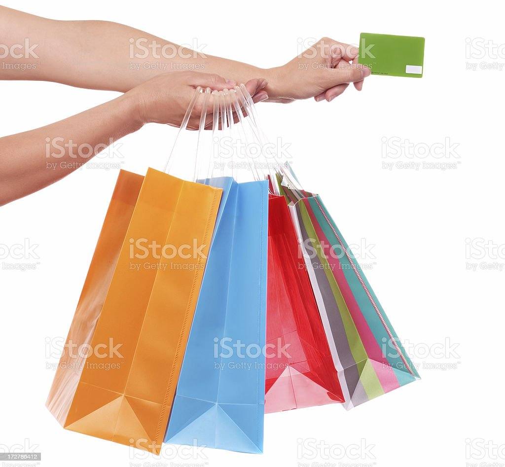 Credit Card Purchase royalty-free stock photo
