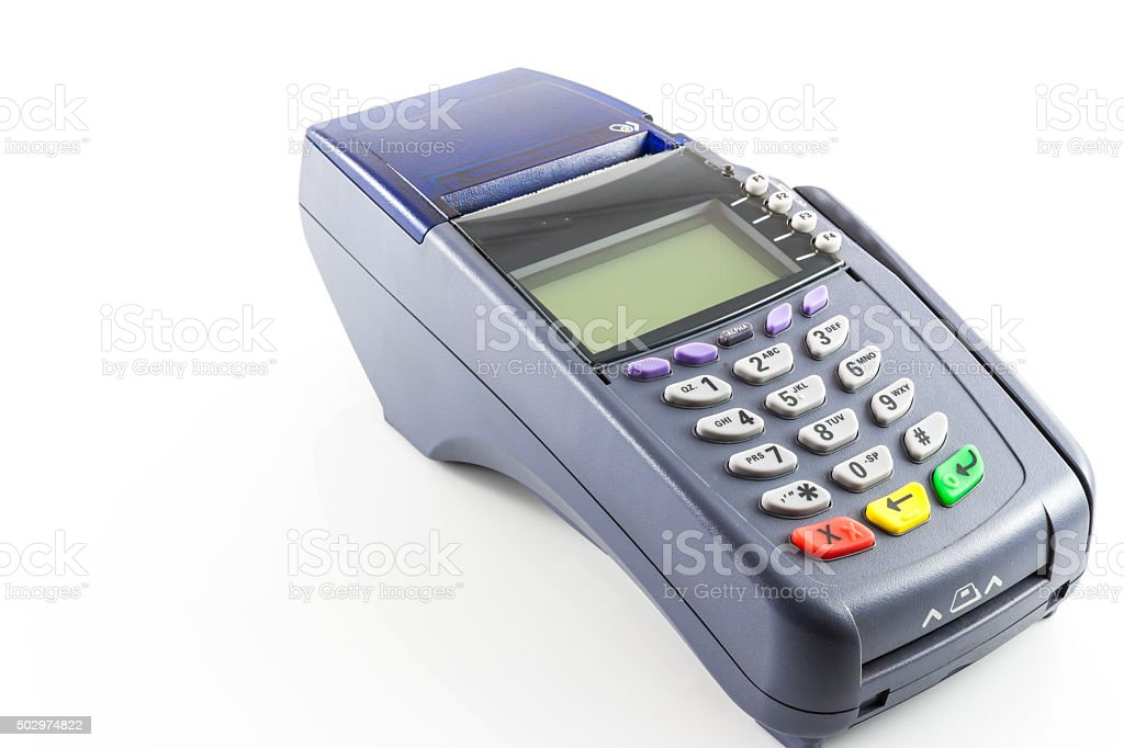 Credit Card Reader Machine Stock Photo - Download Image Now - iStock