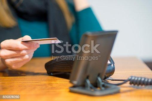 914593772istockphoto Credit card reader 520328250