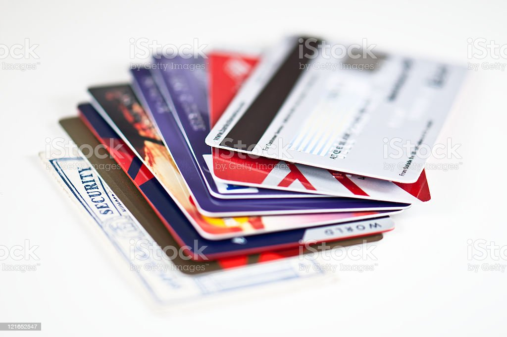 Credit card security royalty-free stock photo