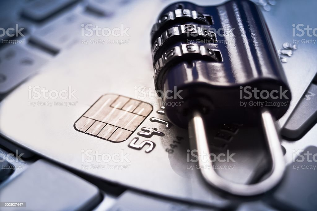credit card security stock photo
