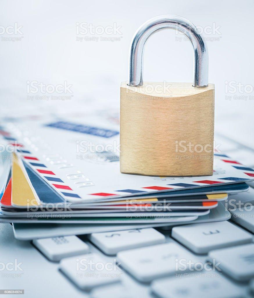 クレジットカードセキュリティ ストックフォト