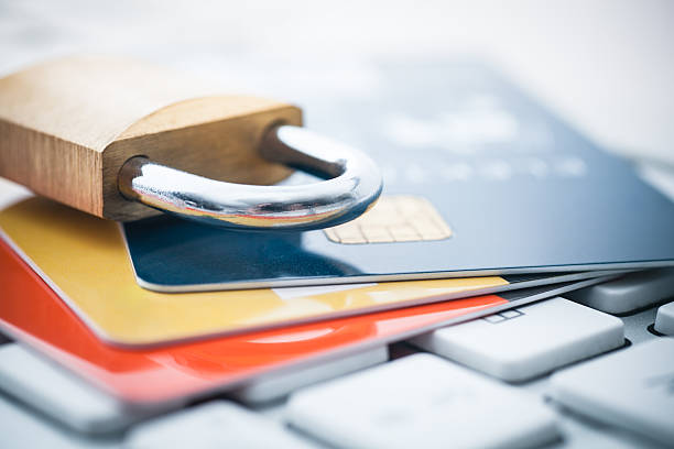 credit card security - identity stock photos and pictures