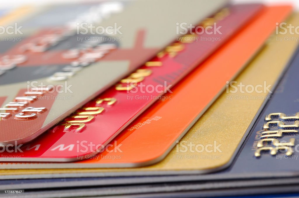 Credit card-financial background royalty-free stock photo