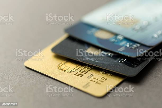 Credit Cards Stock Photo - Download Image Now