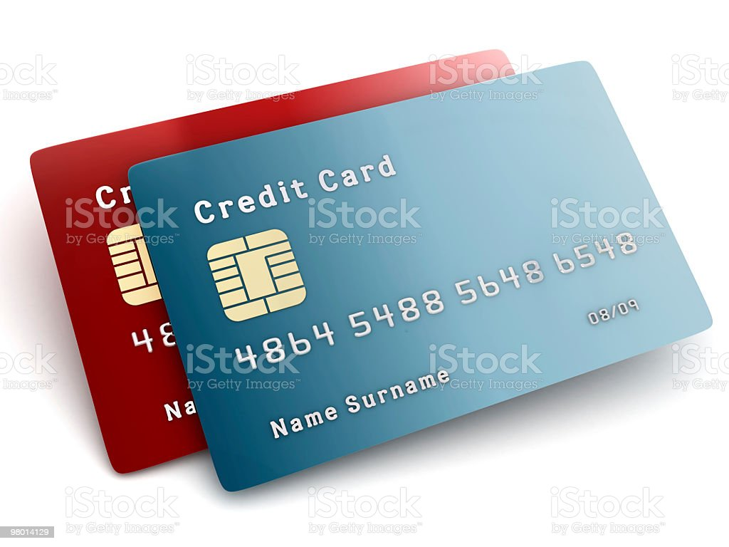 Credit Cards royalty free stockfoto