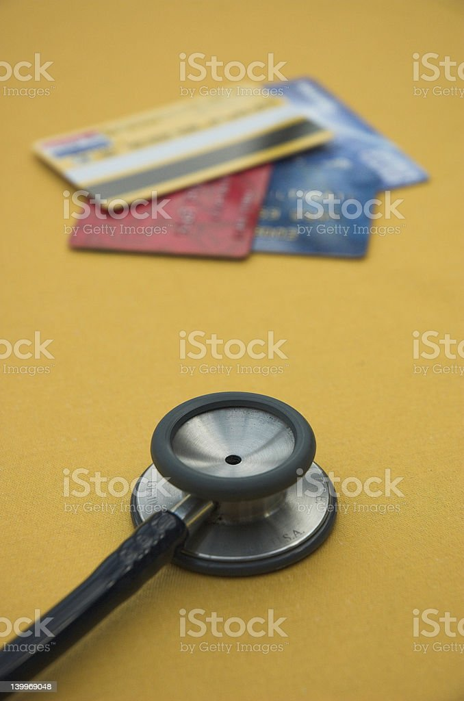 Credit check royalty-free stock photo