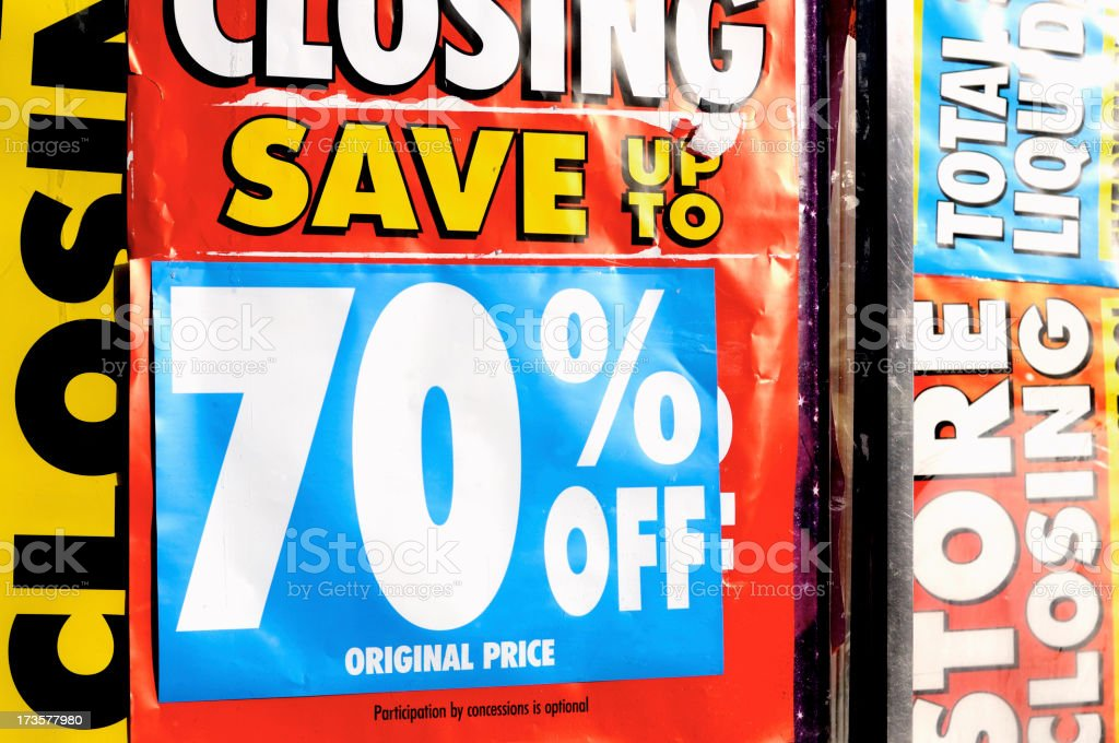 Credit crunch  ( serie ) royalty-free stock photo