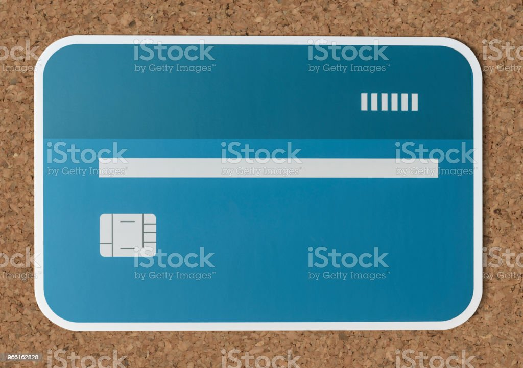 Credit or debit card banking icon - Стоковые фото Банк роялти-фри