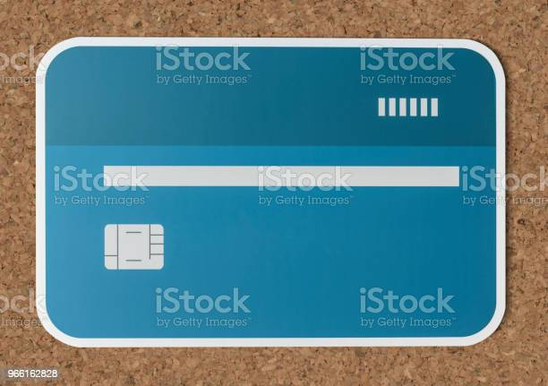 Credit Or Debit Card Banking Icon — стоковые фотографии и другие картинки Банк